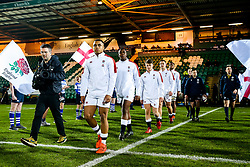 Max Ojomoh of England U20 - Rogan/JMP - 21/02/2020 - Franklin's Gardens - Northampton, England - England U20 v Ireland U20 - Under 20 Six Nations.
