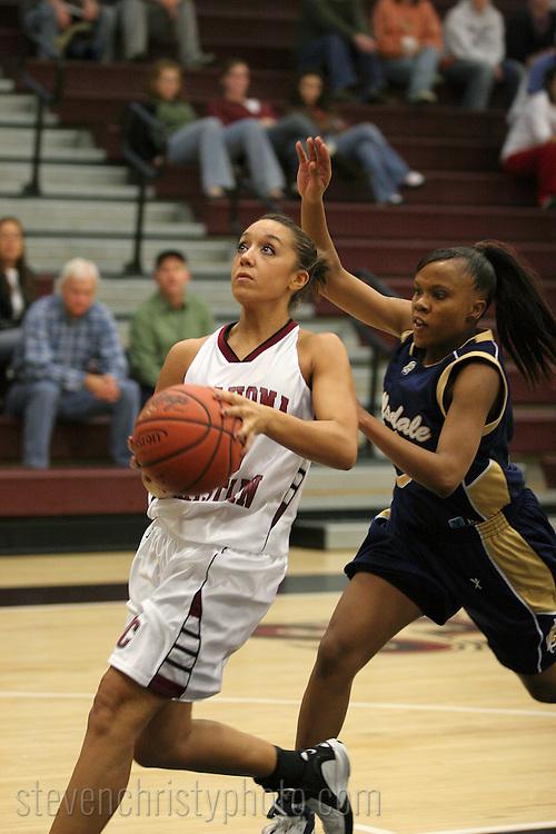 OC Women's Basketball vs Hillsdale Baptist College.November 13, 2006.107-46 win