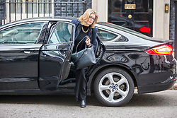 © Licensed to London News Pictures. 15/01/2019. London UK. Penny Mordaunt arrives for the Cabinet meeting this morning ahead of todays vote on Theresa May's Brexit deal. Photo credit: Andrew McCaren/LNP