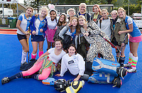 ZWOLLE - HC ZWOLLE - Team van Hurley heeft zich verkleed.  FOTO KOEN SUYK