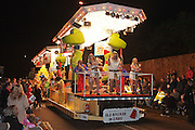 Old Bazaar in Cairo by Newmarket Carnival Club, winner of the Comic Feature Cart class at the 2011 Bridgwater Carnival. Bridgwater Carnival is an annual event to raise money for local charities. It is widely reputed to be the largest illuminated carnival in the world. in 2011.