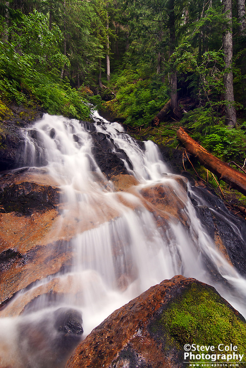 Gold Run Falls - North Fork Nooksack River Valley