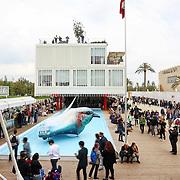 padiglione della Repubblica Ceca  Expo 2015  Milano, 17/10/2015.