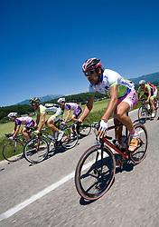 Gregor Gazvoda  (SLO) of Slovenian National Team at 2nd stage of Tour de Slovenie 2009 from Kamnik to Ljubljana, 146 km, on June 19 2009, Slovenia. (Photo by Vid Ponikvar / Sportida)