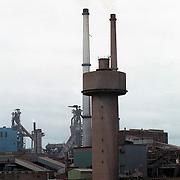 NLD/IJmuiden/19911120 - Milieuvervuiling natuur, Hoogovens