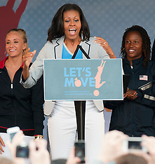 Michele Obama at Olympic party in London 27-7-12