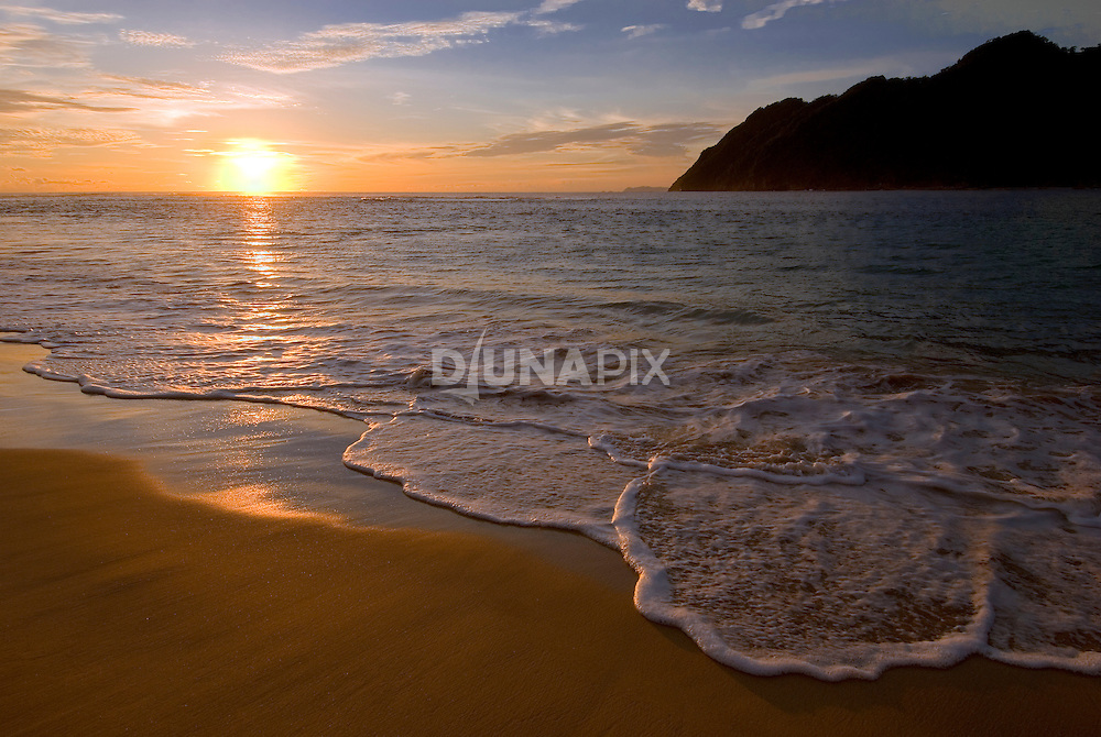 Sunset at Lam Puuk Beach, Aceh.