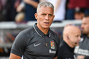 Northampton Town manager Keith Curle during the EFL Sky Bet League 2 match between Northampton Town and Newport County at the PTS Academy Stadium, Northampton, England on 14 September 2019.
