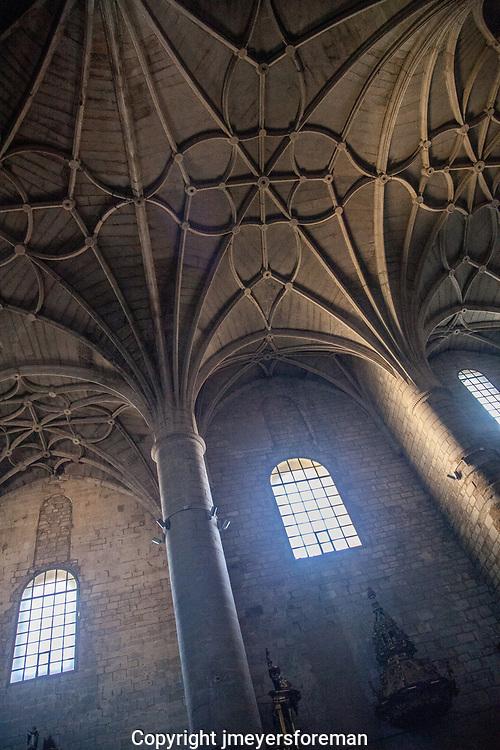 The Romanesque Iglesia de Santiago, Puente la Reina Spain