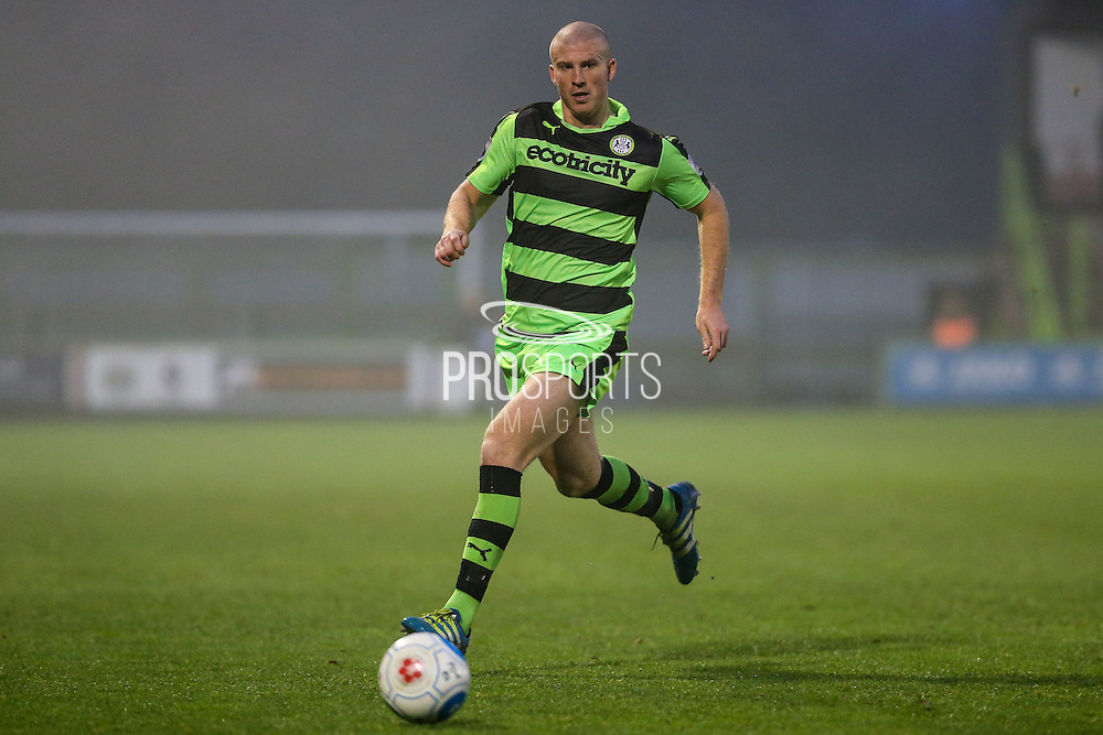 Forest Green Rovers Charlie Clough(5) runs forward during the Vanarama National League match between Forest Green Rovers and Dover Athletic at the New Lawn, Forest Green, United Kingdom on 17 December 2016. Photo by Shane Healey.