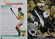 All Ireland Senior Hurling Championship - Final, .10.09.2000, 09.10.2000, 10th September 2000, .10092000AISHCF,.Senior Kilkenny v Offaly,.Minor Cork v Galway,.Kilkenny 5-15, Offaly 1-14, .Puma,