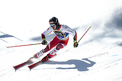 March 16, 2019 - El Tarter, Andorra - Cedric Noger of Switzerland Ski Team, during Men's Giant Slalom Audi FIS Ski World Cup race, on March 16, 2019 in El Tarter, Andorra. (Credit Image: © Joan Cros/NurPhoto via ZUMA Press)