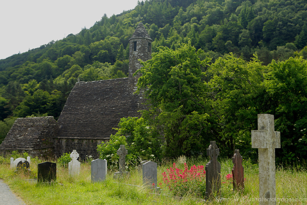 Europe, Ireland, Glendalough.