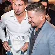 NLD/Amsterdam/20171114 - Lancering LINDA.man Johnny, Rick Brandsteder en Johnny de Mol