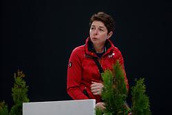 THEODORESU Monica (Bundestrainer Dressur GER)<br /> Paris - FEI World Cup Finals 2018<br /> Dressurtraining<br /> www.sportfotos-lafrentz.de/Dirk Caremans<br /> 12. April 2018