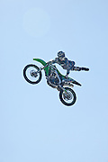 Stunt Riders at the second annual Sturgis North - All Make Motorcycle Rally and Music Festival at the Motoplex Speedway and Event Park near Vernon, British Columbia. Photo By: Insight-Photography.com