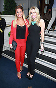 16.AUGUST.2013. LONDON<br /> <br /> SAM FAIERS AND GEMMA MERNA ARRIVING AT THE RITZ HOTEL IN MAYFAIR, LONDON.<br /> <br /> BYLINE: EDBIMAGEARCHIVE.CO.UK<br /> <br /> *THIS IMAGE IS STRICTLY FOR UK NEWSPAPERS AND MAGAZINES ONLY*<br /> *FOR WORLD WIDE SALES AND WEB USE PLEASE CONTACT EDBIMAGEARCHIVE - 0208 954 5968*