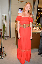 OLIVIA INGE at a party to celebrate the launch of the new Watches of Switzerland Knightsbridge store 47-51 Brompton Road, London on 7th July 2016.