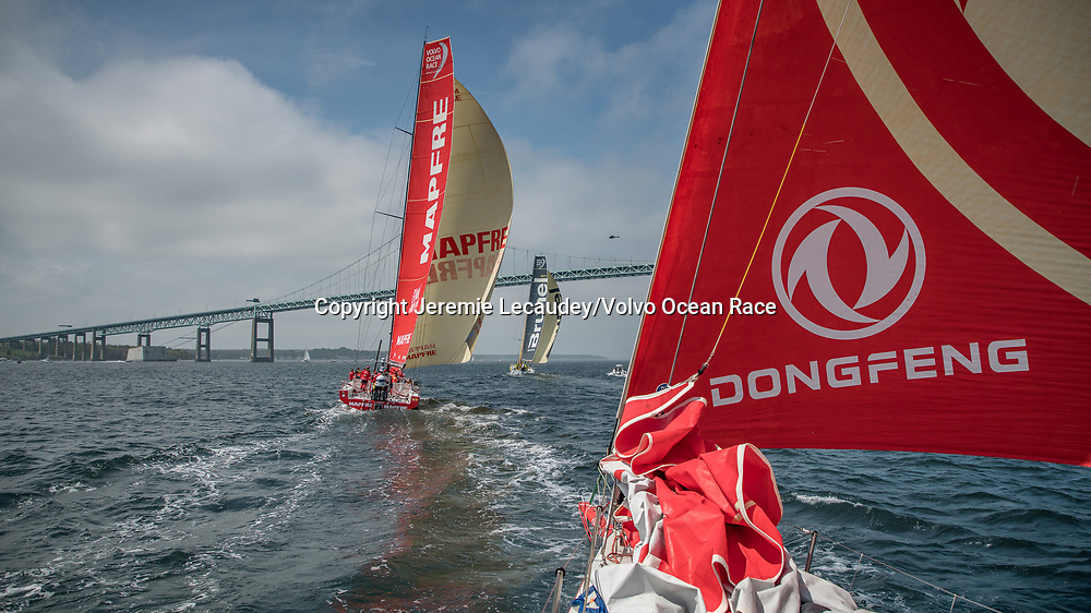 Leg 9, from Newport to Cardiff, day 01 on board Dongfeng. 20 May, 2018.