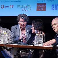 Nederland, Amsterdam , 26 juni 2014.<br /> Debat in de stad in de Balie met als thema: Palestijnse kinderen en militaire detentie.<br /> Gate48 en Palestine Link organiseren in samenwerking met De Balie een debat over het nieuwe rapport'Palestijnse kinderen en militaire detentie'van een Nederlandse multidisciplinaireexpertgroep. Panelleden zijn Han ten Broeke (VVD), Michiel Servaes (PvdA),Sjoerd Sjoerdsma (D66), Prof. Jaap E. Doek, Prof. Karin Arts en Prof. Peter van der Laan.<br /> <br /> Foto:Jean-Pierre Jans
