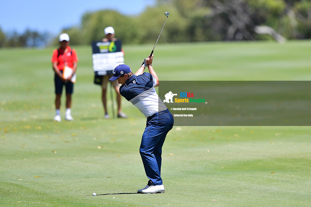 PERTH, AUSTRALIA - FEBRUARY 16: Paul Dunne (IRL) on the 7th fairway during the 3rd round of the ISPS Handa World Super 6, Lake Karrinyup Country Club, Perth, Western Australia, on February 16, 2019. <br /> .<br /> .<br /> .<br /> (Photo by: Naratip Golf Srisupab/SEALs Sports Images)<br /> .<br /> Any image use must include a mandatory credit line adjacent to the content which should read: Naratip Golf Srisupab/SEALs Sports Images
