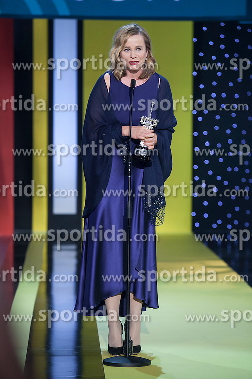 25.09.2015, Madrid, San Sebastian, ESP, San Sebastian International Film Festival, im Bild British actress Emily Watson receives the 2015 Donostia Award during the official ceremony // at 63rd Donostia Zinemaldia, San Sebastian International Film Festival in Madrid in San Sebastian, Spain on 2015/09/25. EXPA Pictures &copy; 2015, PhotoCredit: EXPA/ Alterphotos/ Victor Blanco<br /> <br /> *****ATTENTION - OUT of ESP, SUI*****