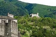 Burg Sasso Corbaro, UNESCO Welterbestätte Drei Burgen sowie Festungs- und Stadtmauern von Bellinzona, Tessin, Schweiz | Sasso Corbaro Castle, a UNESCO World Heritage Site Three Castles, fortresses and ramparts of Bellinzona, Ticino, Switzerland