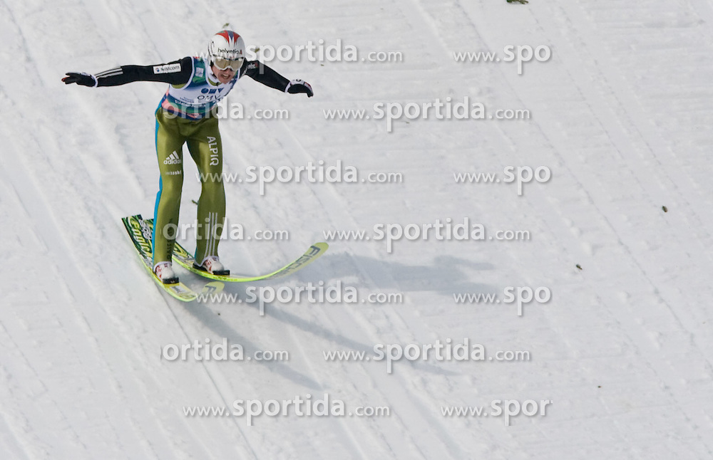 AMMANN Simon, RG Churfirsten, SUI  competes during Flying Hill Individual Fourth Round at 3rd day of FIS Ski Flying World Championships Planica 2010, on March 20, 2010, Planica, Slovenia.  (Photo by Vid Ponikvar / Sportida)