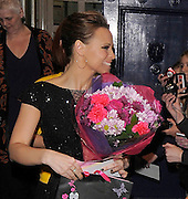 21.MAY.2012. LONDON<br /> <br /> KIMBERLEY WALSH LEAVES SHREK THE MUSICAL AT THE THEATRE ROYAL DRURY LANE, LONDON, UK.<br /> <br /> BYLINE: EDBIMAGEARCHIVE.COM<br /> <br /> *THIS IMAGE IS STRICTLY FOR UK NEWSPAPERS AND MAGAZINES ONLY*<br /> *FOR WORLD WIDE SALES AND WEB USE PLEASE CONTACT EDBIMAGEARCHIVE - 0208 954 5968*