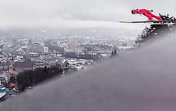 22.02.2019, Bergiselschanze, Innsbruck, AUT, FIS Weltmeisterschaften Ski Nordisch, Seefeld 2019, Skisprung, Herren, im Bild Jonathan Learoyd (FRA) // Jonathan Learoyd of France during the men's Skijumping of FIS Nordic Ski World Championships 2019. Bergiselschanze in Innsbruck, Austria on 2019/02/22. EXPA Pictures © 2019, PhotoCredit: EXPA/ JFK