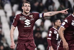 May 3, 2019 - Torino, Torino, Italia - Foto LaPresse - Marco Alpozzi.03 Maggio 2019 Torino, Italia .Sport.Calcio.Juventus Fc vs Torino Fc - Campionato di calcio Serie A TIM 2018/2019 - Allianz Stadium..Nella foto: Andrea Belotti (capitano) (Torino Fc); ..Photo LaPresse - Marco Alpozzi.May 03, 2019 Turin, Italy.sport.soccer.Juventus Fc vs Torino Fc - Italian Football Championship League A TIM 2018/2019 - Allianz Stadium..In the pic: Andrea Belotti (capitano) (Credit Image: © Marco Alpozzi/Lapresse via ZUMA Press)