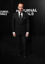 The cast of 'Nocturnal Animals' attend a special screening of the Tom Ford film in Los Angeles. 11 Nov 2016 Pictured: Tom Ford. Photo credit: American Foto Features / MEGA TheMegaAgency.com +1 888 505 6342
