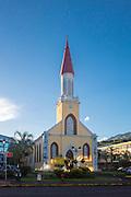 Norte Dame Cathredral, Papeete, Tahiti, French Polynesia
