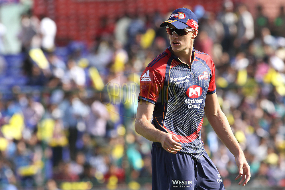 Morne Morkel of the Delhi Daredevils during match 19 of the Indian Premier League ( IPL ) Season 4 between the Delhi Daredevils and the Deccan Chargers held at the Feroz Shah Kotla Stadium in Delhi, India on the 19th April 2011..Photo by Shaun Roy/BCCI/SPORTZPICS