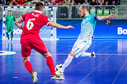 Igor Osredkar of Slovenia during futsal match between Slovenia and Serbia at Day 1 of UEFA Futsal EURO 2018, on January 30, 2018 in Arena Stozice, Ljubljana, Slovenia. Photo by Ziga Zupan / Sportida