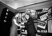 23/11/1964<br /> 11/12/1964<br /> 23 November 1964<br /> <br /> 19 Sales Girls from various parts of Ireland, at a Presentation in the Royal Hibernian Hotel <br /> <br /> Miss Frances Brennan, McBirneys, Dublin