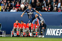 FOOTBALL - FRENCH CHAMPIONSHIP 2012/2013 - L1 - PARIS SAINT GERMAIN VS SOCHAUX - 29/09/2012 - MAXWELL (PARIS SAINT-GERMAIN)