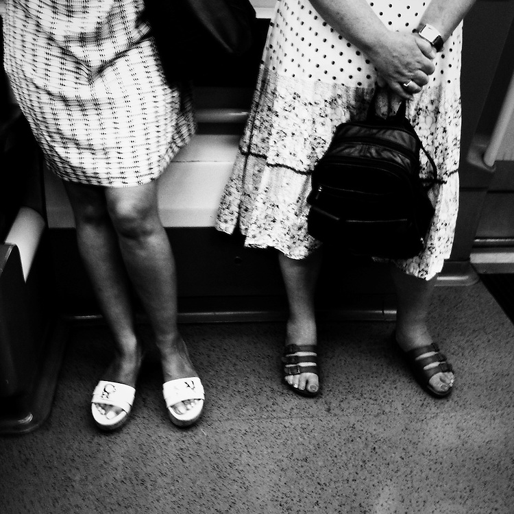 I have started this project to reflect the fact that I am spending a lot of time on the tube and on trains. It is a intrusive reflection of what I see and of people I meet or travel with.