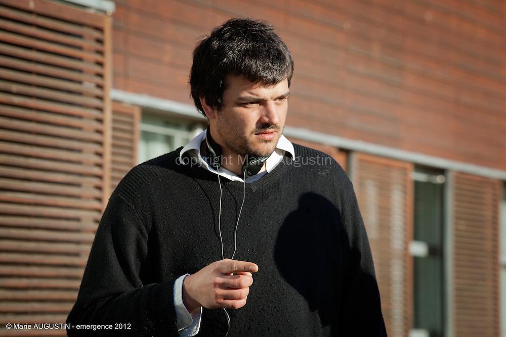 Sacha WOLFF, réalisateur - tournage scène imposée - emergence 2012
