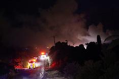 Tauranga-Scrub fire on Waimapu Pa Road