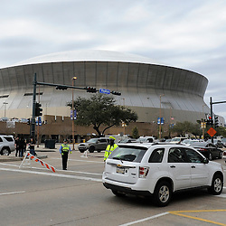 Jan 24, 2010; New Orleans, LA, USA; A general view of the Louisiana Superdome before kickoff of the 2010 NFC Championship game. Mandatory Credit: Derick E. Hingle-US PRESSWIRE