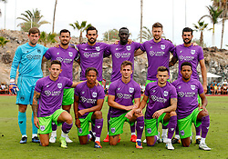 Bristol City team group  - Mandatory by-line: Matt McNulty/JMP - 22/07/2017 - FOOTBALL - Tenerife Top Training - Costa Adeje, Tenerife - Bristol City v Atletico Union Guimar  - Pre-Season Friendly