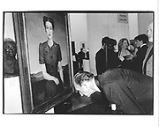 David Metcalfe looking at Duchess of Windsor by Gerald Leslie Brockehurst. Party to show the newly acquired painting and to launch Robert Lacey's book, 'Sotheby's' National Portrait Gallery. 6 May 1998. © Copyright Photograph by Dafydd Jones 66 Stockwell Park Rd. London SW9 0DA Tel 020 7733 0108 www.dafjones.com