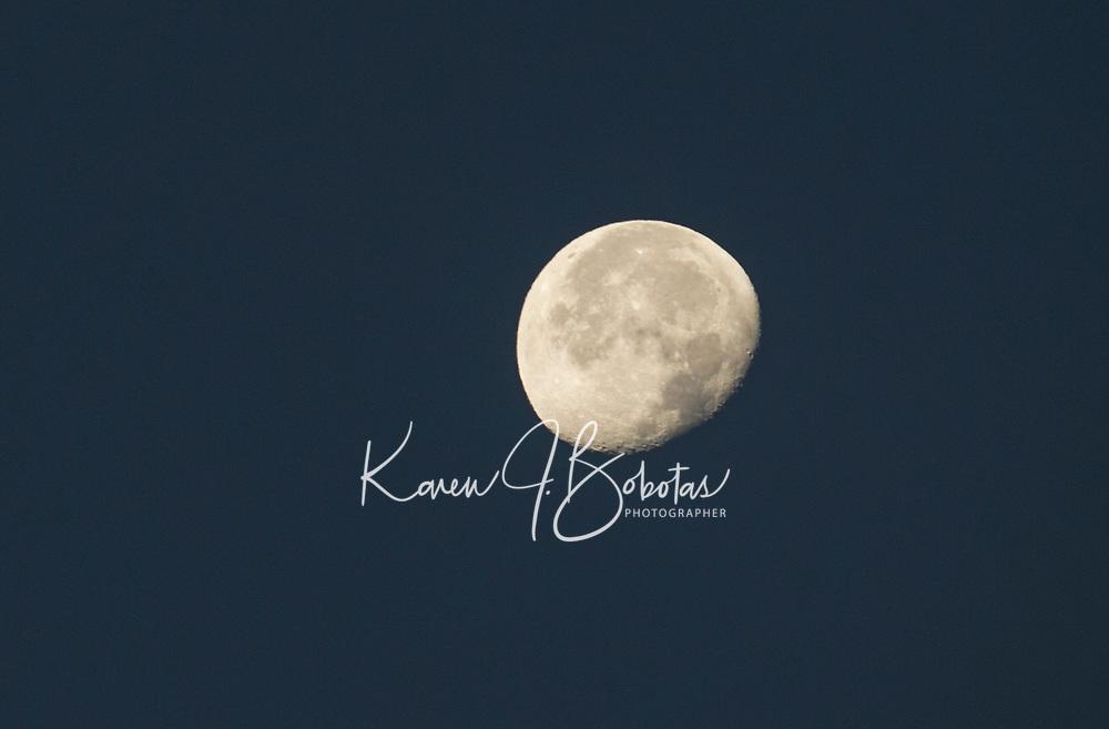 Moonrise  Gilford, NH.  ©2016 Karen Bobotas Photographer