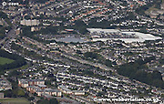 aerial photograph of Craigleith Rd  Edinburgh Scotland