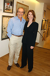 GERALD SCARFE and his wife JANE ASHER at a party to celebrate the publication of Drawing Blood -Forty-Five Years of Scarfe Uncensored, a book of Gerald Scarfe's work held at The Fine Arts Society, New Bond Street, London on 3rd November 2005.<br /><br />NON EXCLUSIVE - WORLD RIGHTS