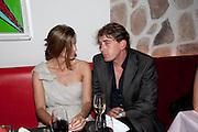 Rosario Saxe Coburg ; SCOTT DOUGLAS;, Prada Congo Benefit party. Double Club. Torrens Place. Angel. London. 2 July 2009.