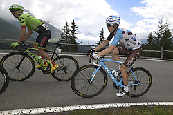 June 15, 2017 - Locarno / La Punt, Suisse - WOODS Michael of Cannondale-Drapac Pro Cycling, BAKELANTS Jan (BEL) Rider of Team AG2R La Mondiale during stage 6 of the Tour de Suisse cycling race, a stage of 166 kms between Locarno and La Punt on June 15, 2017 in La Punt, Switserland, 15/06/2017 (Credit Image: © Panoramic via ZUMA Press)