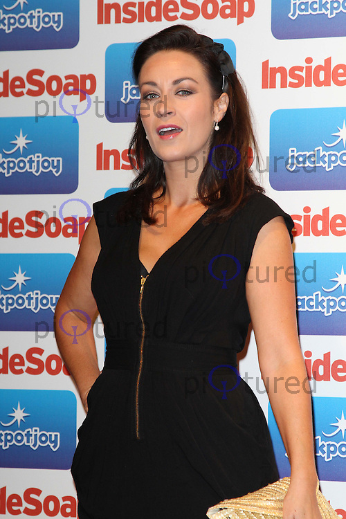 Elisabeth Dermot Walsh Inside Soap Awards 2011, Gilgamesh, The Stables Market, Camden Town, London, UK. 26 September 2011 Contact: Rich@Piqtured.com +44(0)7941 079620 (Picture by Richard Goldschmidt)
