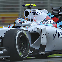 Valtteri Bottas, Williams Martini F1 Team.<br /> Round 1 - Third day of the 2015 Formula 1 Rolex Australian Grand Prix at The circuit of Albert Park, Melbourne, Victoria on the 14th March 2015.<br /> Wayne Neal | SportPix.org.uk